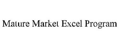 MATURE MARKET EXCEL PROGRAM