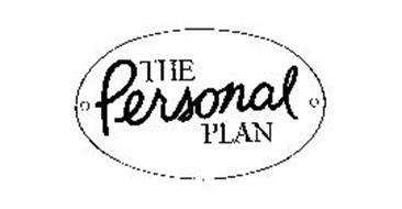 THE PERSONAL PLAN