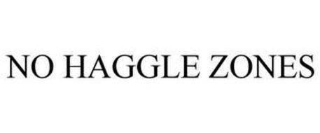 NO HAGGLE ZONES