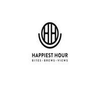 HH HAPPIEST HOUR BITES  ·  BREWS  · VIEWS