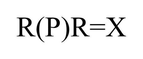 R(P)R=X