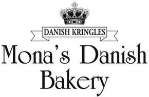 DANISH KRINGLES MONA'S DANISH BAKERY