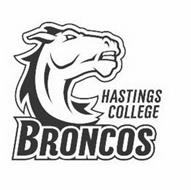 HASTINGS COLLEGE BRONCOS