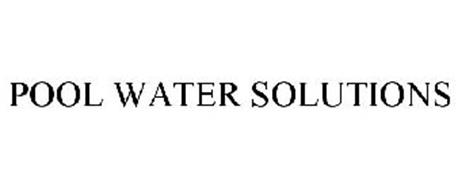 POOL WATER SOLUTIONS