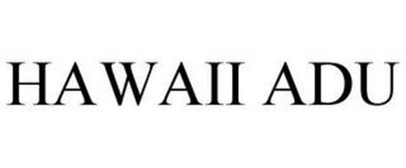 HAWAII ADU