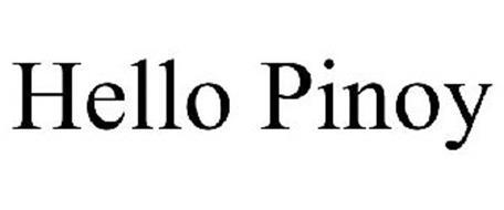 HELLO PINOY