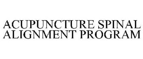 ACUPUNCTURE SPINAL ALIGNMENT PROGRAM