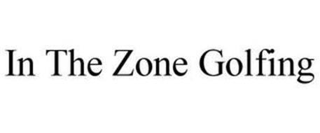 IN THE ZONE GOLFING