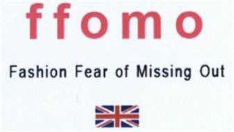 FFOMO FASHION FEAR OF MISSING OUT