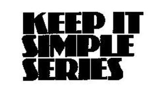 KEEP IT SIMPLE SERIES