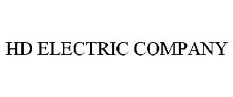 HD ELECTRIC COMPANY