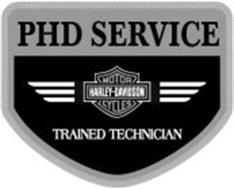 PHD SERVICE HARLEY-DAVIDSON MOTOR CYCLES TRAINED TECHNICIAN