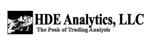 HDE ANALYTICS, LLC THE PEAK OF TRADING ANALYSIS