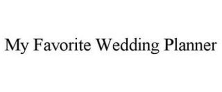 MY FAVORITE WEDDING PLANNER