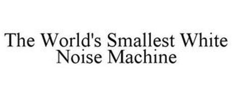 THE WORLD'S SMALLEST WHITE NOISE MACHINE