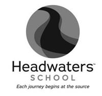 HEADWATERS SCHOOL EACH JOURNEY BEGINS AT THE SOURCE