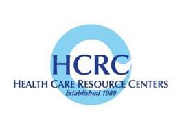 HCRC HEALTH CARE RESOURCE CENTERS ESTABLISHED 1989