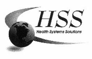 HSS HEALTH SYSTEMS SOLUTIONS