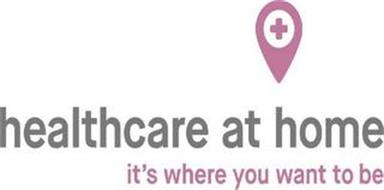 HEALTHCARE AT HOME IT'S WHERE YOU WANT TO BE