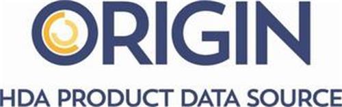 ORIGIN HDA PRODUCT DATA SOURCE