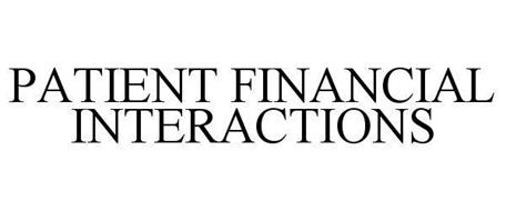PATIENT FINANCIAL INTERACTIONS