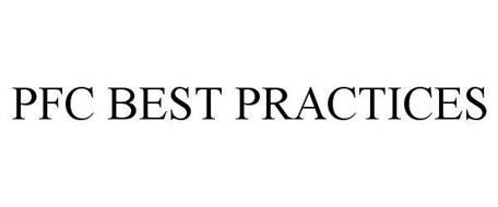 PFC BEST PRACTICES