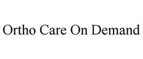 ORTHO CARE ON DEMAND