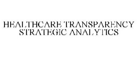 HEALTHCARE TRANSPARENCY STRATEGIC ANALYTICS