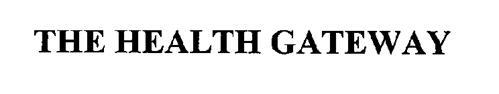 THE HEALTHGATEWAY