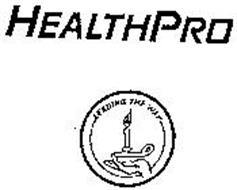 HEALTHPRO LEADING THE WAY