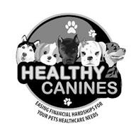 HEALTHY CANINES EASING FINANCIAL HARDSHIPS FOR YOUR PETS HEALTHCARE NEEDS