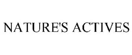 NATURE'S ACTIVES