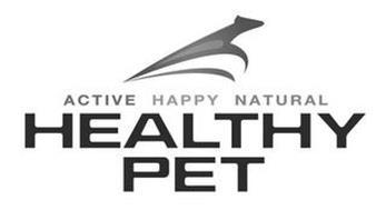 HEALTHY PET ACTIVE HAPPY NATURAL