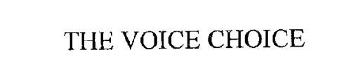 THE VOICE CHOICE