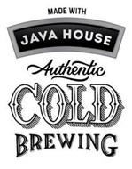MADE WITH JAVA HOUSE AUTHENTIC COLD BREWING
