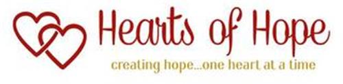HEARTS OF HOPE CREATING HOPE...ONE HEART AT A TIME