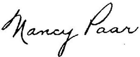 NANCY PAAR