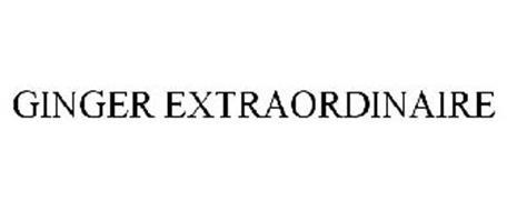 GINGER EXTRAORDINAIRE