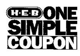 H-E-B ONE SIMPLE COUPON