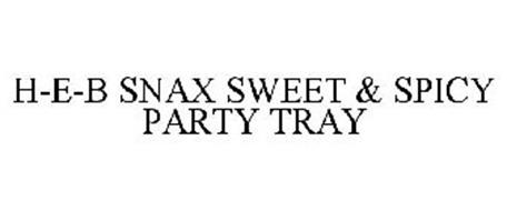 H-E-B SNAX SWEET & SPICY PARTY TRAY