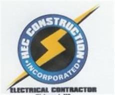 HEC CONSTRUCTION · INCORPORATED · ELECTRICAL CONTRACTOR