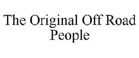 THE ORIGINAL OFF ROAD PEOPLE