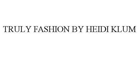 TRULY FASHION BY HEIDI KLUM