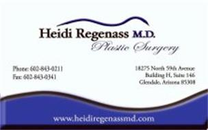 HEIDI REGENASS M.D. PLASTIC SURGERY