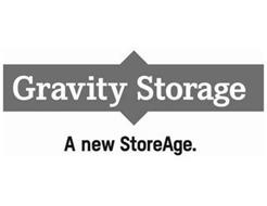 GRAVITY STORAGE A NEW STOREAGE