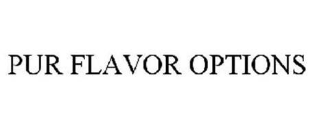PUR FLAVOR OPTIONS