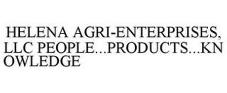 HELENA AGRI-ENTERPRISES, LLC PEOPLE...PRODUCTS...KNOWLEDGE