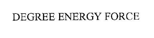 DEGREE ENERGY FORCE