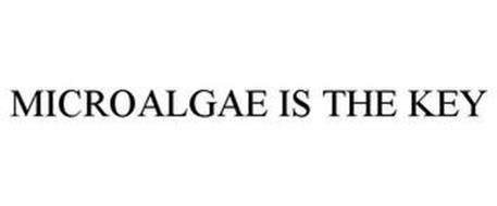 MICROALGAE IS THE KEY