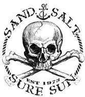 SAND. SALT. SURF. SUN. EST. 1973